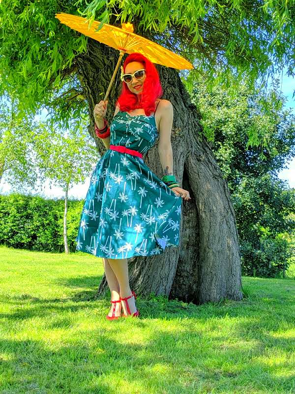f8ad9781b321 Supplier Spotlight: ilovethe50s.com and Collectif Fairy Palm Dress ...